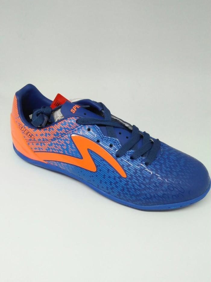 Sepatu Futsal Specs Original Photon In Navy Orange New 2018