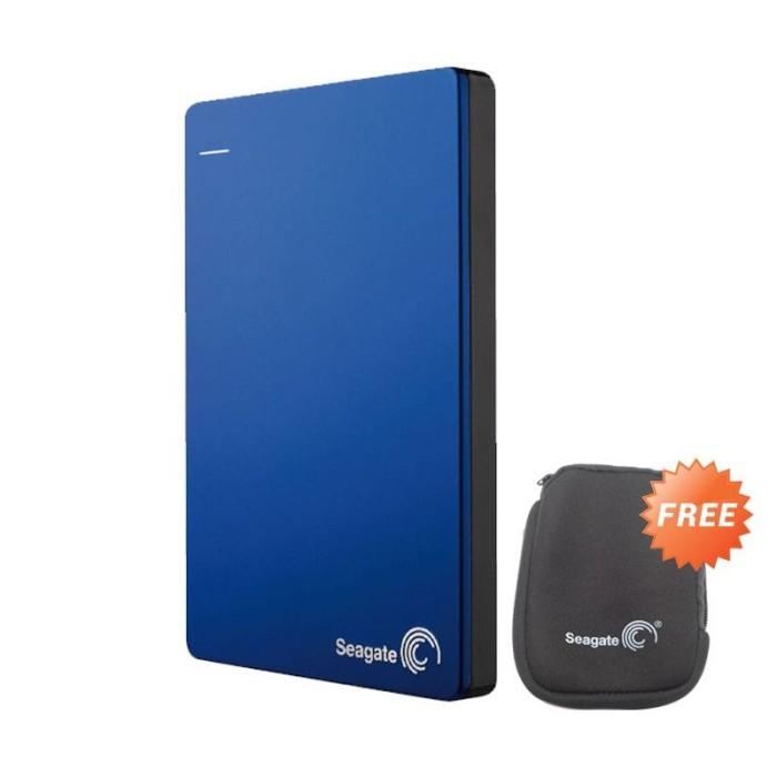 harga Seagate backup plus slim 4tb - hdd / hd / hardisk external 2.5 - biru Tokopedia.com