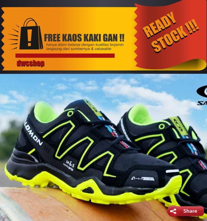 Jual sepatu salomon kalalau orange hijau cek harga di PriceArea.com 9598531356