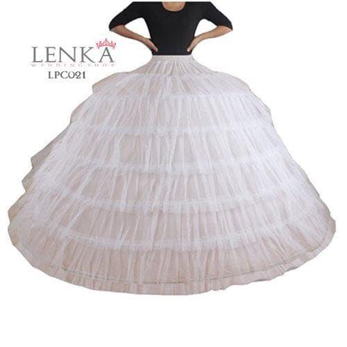 harga Petticoat wedding super ball gown (6riing 6layer tile)l lenka - lpc021 Tokopedia.com