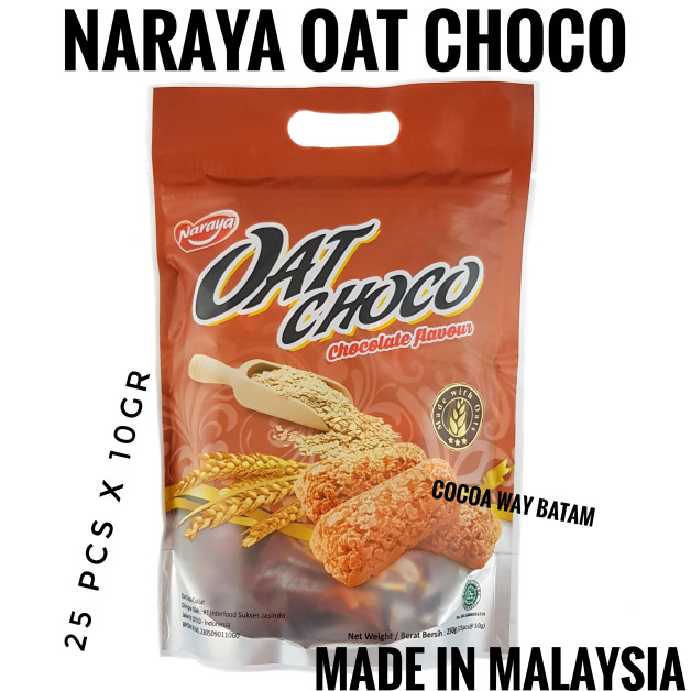 harga Naraya oat choco 250gram chocolate Tokopedia.com