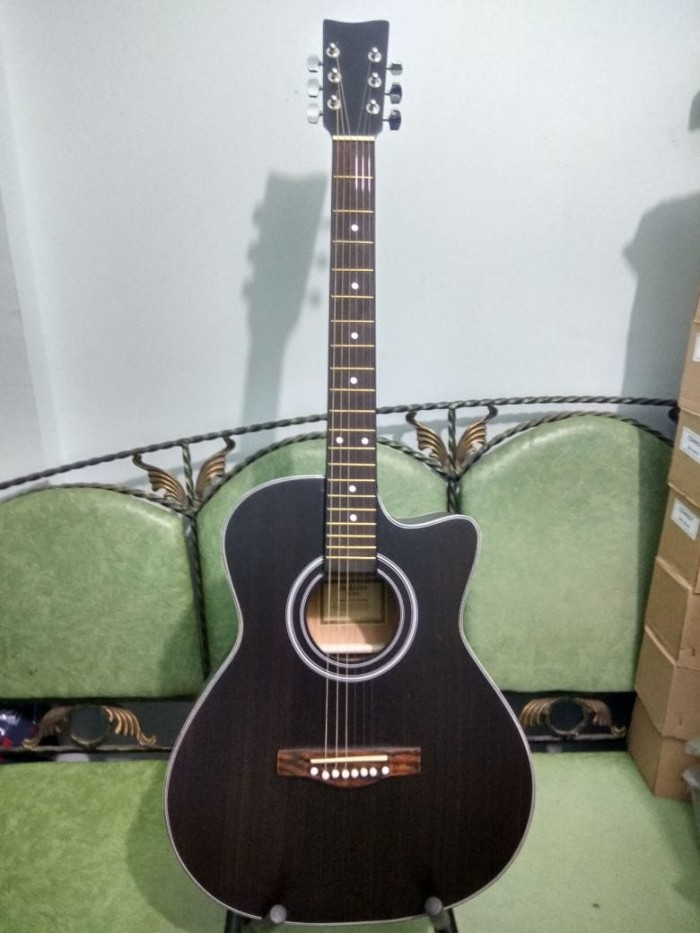 harga Gitar akustik yamaha jumbo browndoff murah jakarta Tokopedia.com