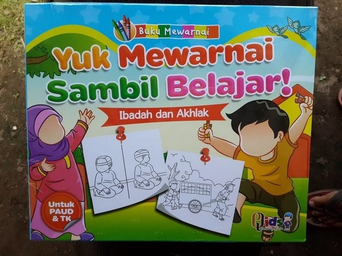 Jual Sale Buku Paud Tk Islam Belajar Mewarnai Sambil Bermain Jakarta Barat Toko Slanky Tokopedia
