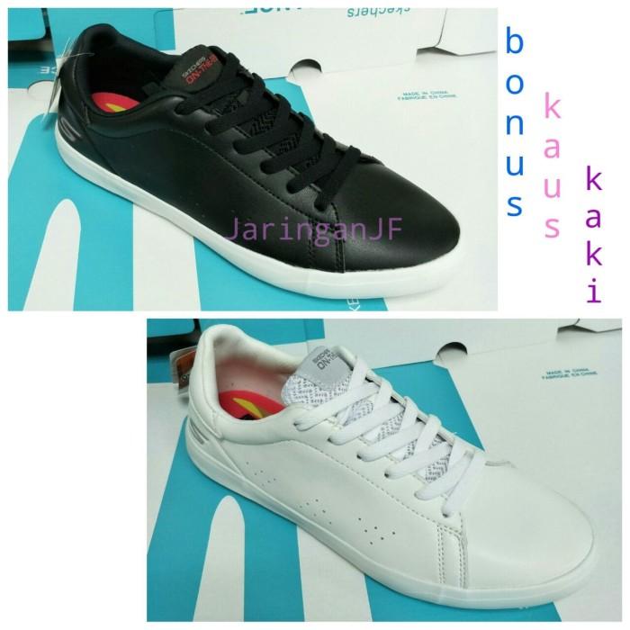 ... harga Skechers govulc   sepatu skecher   sepatu wanita   sepatu kulit  murah Tokopedia.com 63d299c767