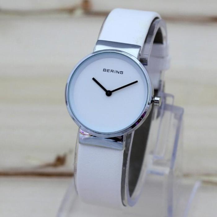 harga Jam tangan bering silver kulit 9042 Tokopedia.com