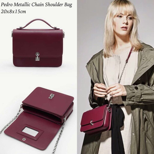 harga Tas batam pedro metallic chain shoulder bag Tokopedia.com