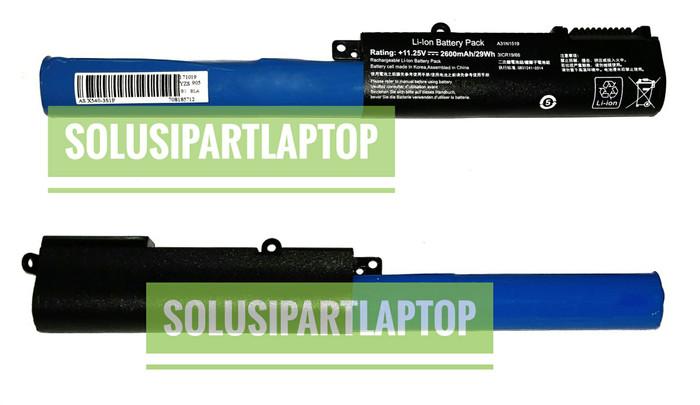 harga Baterai asus x540 x540lx540la x540s x540sa a31n1519 black Tokopedia.com