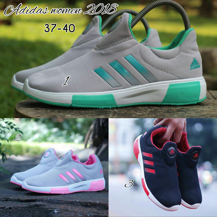 Jual Sepatu Adidas Selop Wanita Sepatu Olahraga Sepatu Gaul Style