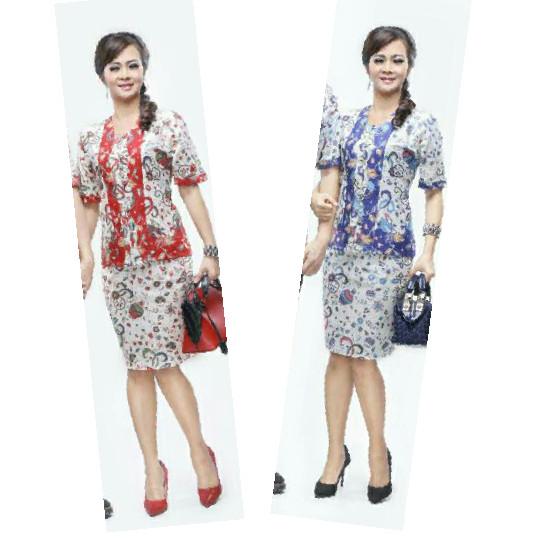 harga Rok & blus nadine gentong | pabrik baju batik wanita grosir murah Tokopedia.com