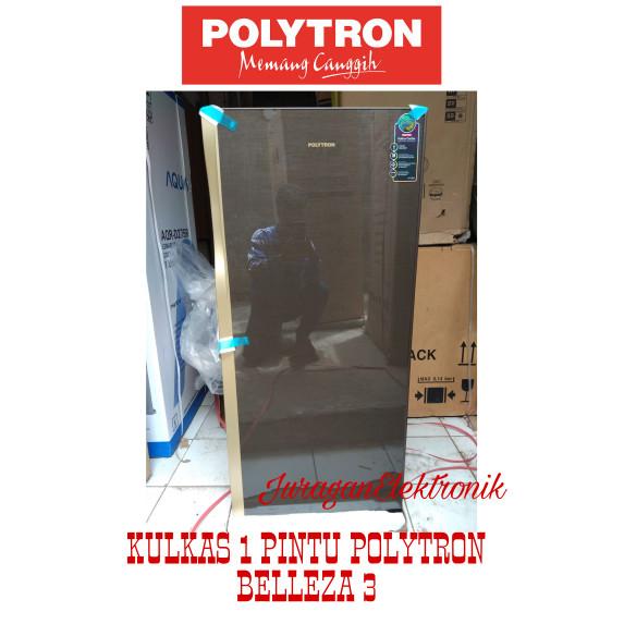 harga Polytron kulkas 1 pintu pro-18qn belleza 3 Tokopedia.com