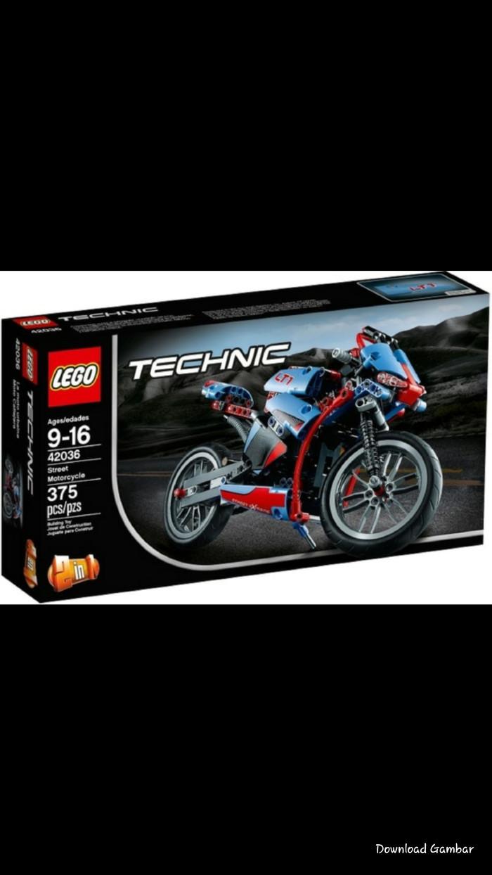 Lego technic 42036 street motorcycle