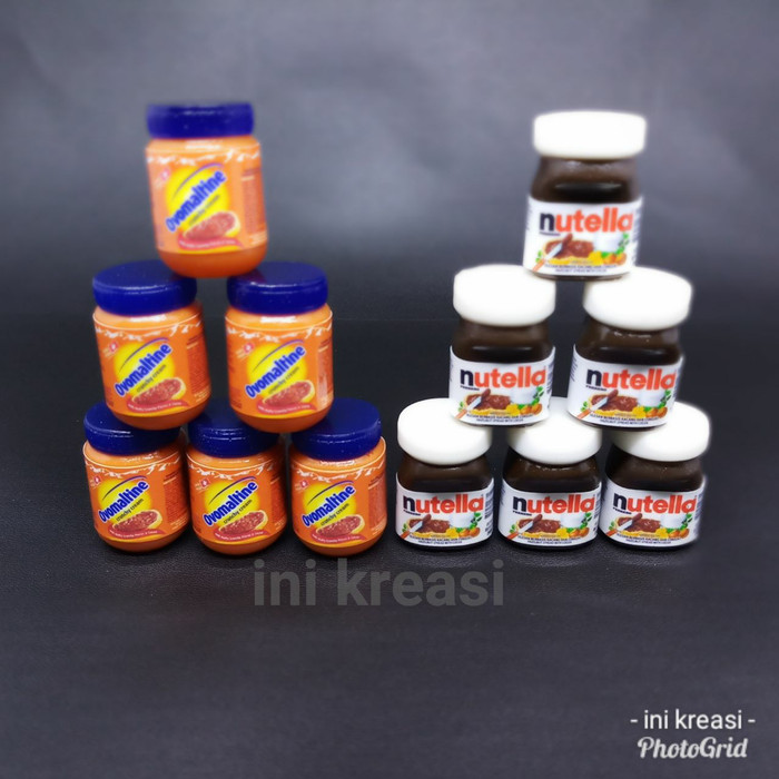 harga Magnet kulkas miniatur ovomaltine/nutella Tokopedia.com