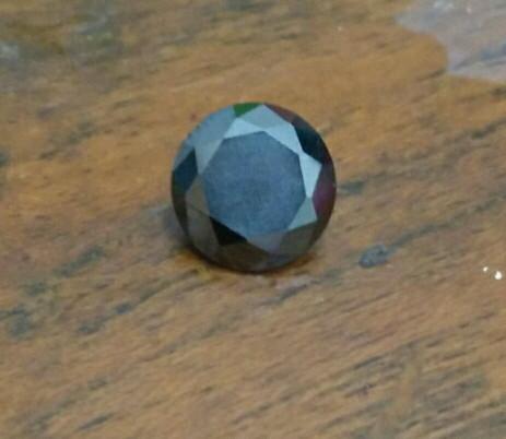 harga Diamond moissanite 1.65 - 2ct 7.8mm black vvs1 Tokopedia.com