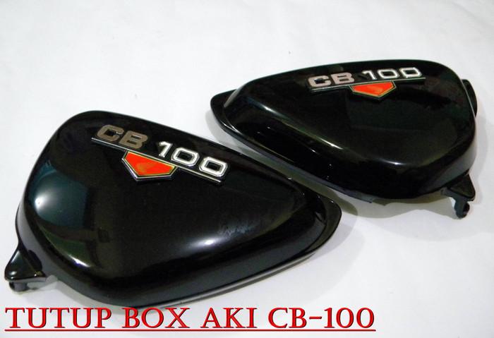 harga Tutup aki box aki cb cb100 cb 100 hitam Tokopedia.com