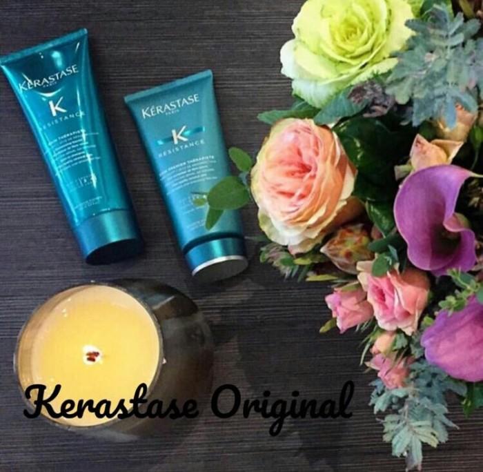 harga Paket Kerastase Shampoo Bain Therapiste 250ml + Conditioner 200ml Tokopedia.com