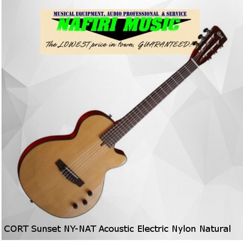 harga Cort sunset ny-nat acoustic electric nylon natural original Tokopedia.com