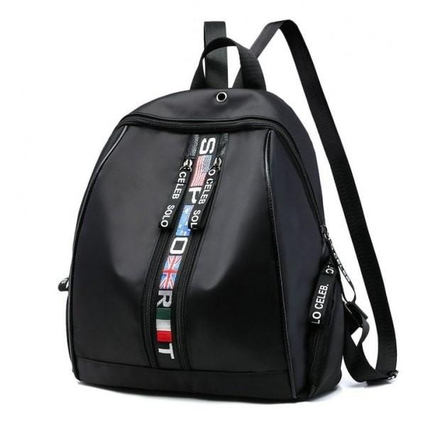 harga Tas ransel backpack sporty wanita hitam motif bendera flag unik kuliah Tokopedia.com
