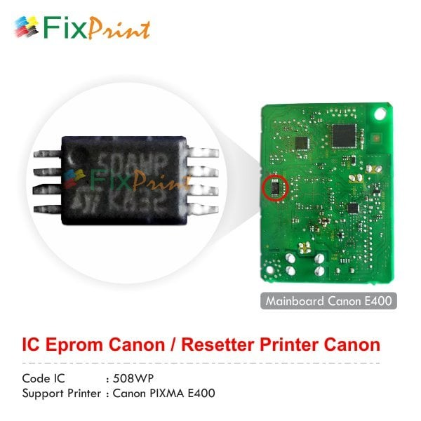 Jual Ic Eprom Canon E400 Ic Counter E400 Ic Reset E400 Kota Surabaya Fixprint Store Tokopedia