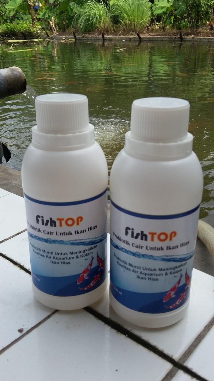 Jual Probiotik Ikan Hias FISHTOP Air Kolam & Aquarium Bersih Kota Bogor BIOPRISMA