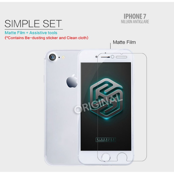 Foto Produk iPhone 7 Iphone 8 - Nillkin Antiglare Screen Guard dari Bungkusgan