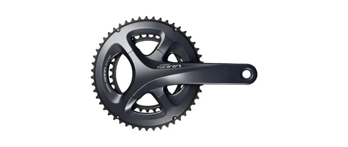 harga Crank shimano sora  50-34 x 170 mm fc-m3000 road bike balap 2 speed Tokopedia.com