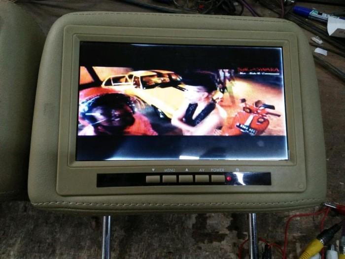 harga Monitor headrest 9 inch layar pinggir putih Tokopedia.com