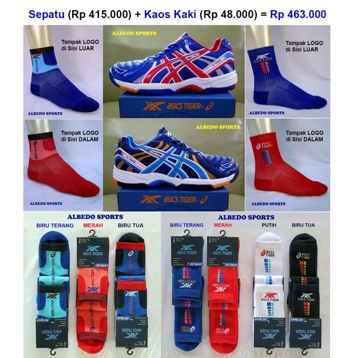harga Asics Tiger Sepatu Tennis/tenis Navy Nike Adidas Babolat Yonex Reebok Tokopedia.com