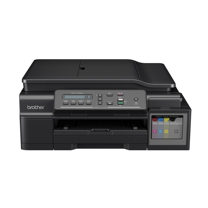 harga Brother dcp-t700w printer multifungsi + wifi - print scan copy adf Tokopedia.com