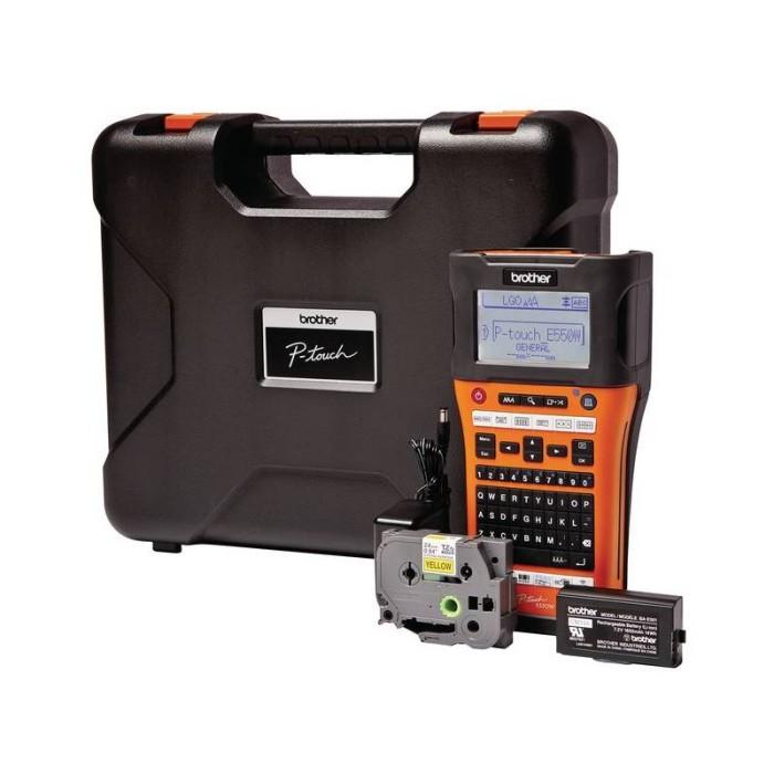 harga Brother label printer pt-e550w handheld wireless cabling pte550w Tokopedia.com