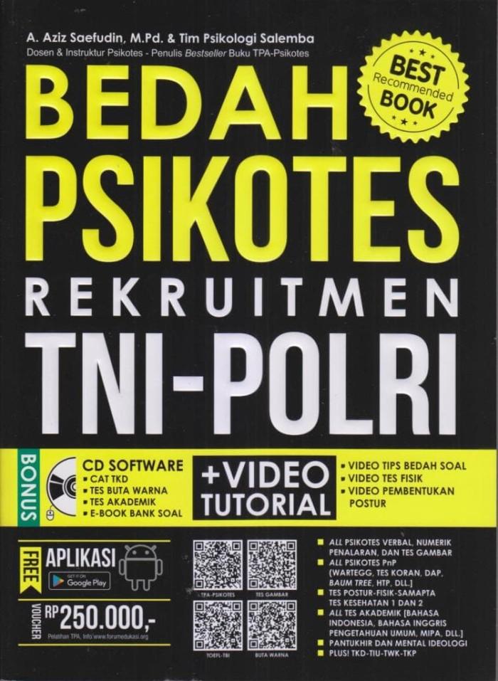 Jual Bedah Psikotes Rekruitment Tni Polri Kota Yogyakarta
