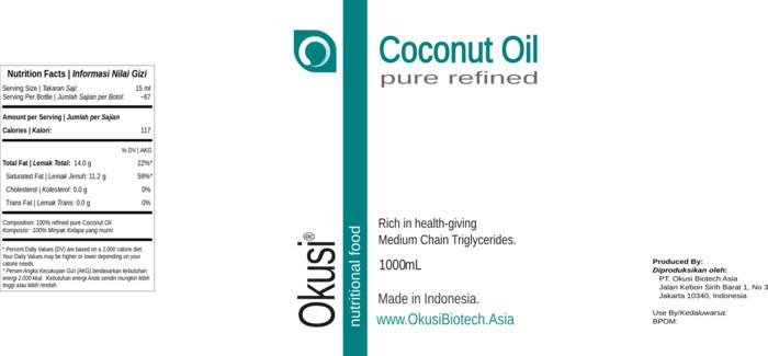 Foto Produk Pure Coconut Oil - Minyak Kelapa Murni - 1 liter Berkualitas dari Rireez