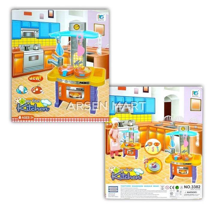 Jual My First Kitchen Set Mainan Edukasi Anak Masak Masakan Dapur Kota Tangerang Arsen Mart Tokopedia
