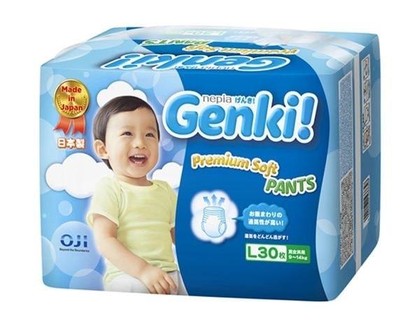 harga Nepia genki pants l30 (pampers diapers bayi) Tokopedia.com