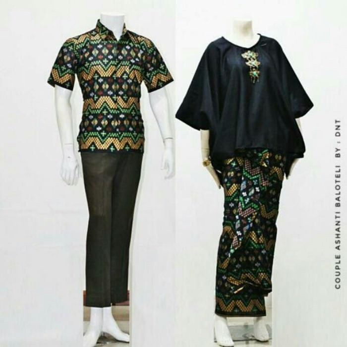 Batik Kebaya Couple / Sarimbit Balloteli Zigzag