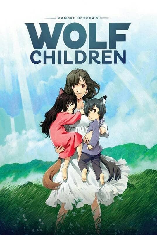 Jual Wolf Children Anime Ookami Kodomo no Ame to Yuki - Kota Metro ...