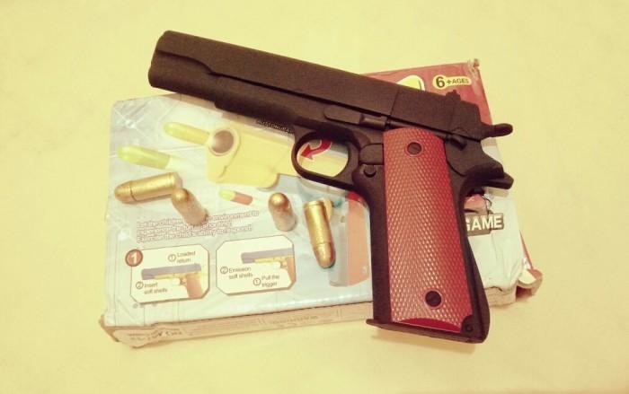 harga Mainan Soft Bullet Plastic Spring Mirip Nerf Model M1911 Buat Cosplay Tokopedia.com