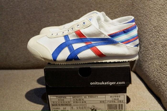 purchase cheap d5017 f0719 Jual Sepatu Asics Onitsuka Tiger Mexico 66 TH6P4N Slip On Unisex - Kota  Bandung - Socca Shoes | Tokopedia