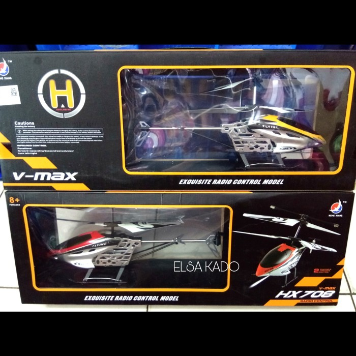 Mainan Rc Helicopter Hx708 Remote Control Helikopter Hx 708 Hobi Drone