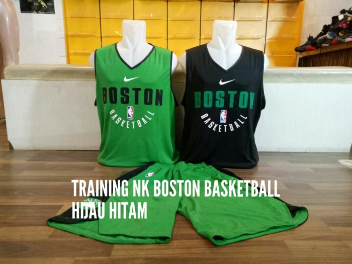 reputable site e67f2 01791 Jual Jersey Basket NBA Training Boston Celtics Hijau Hitam Bolak Balik 2017  - Kota Batam - Elite Basketball Store | Tokopedia