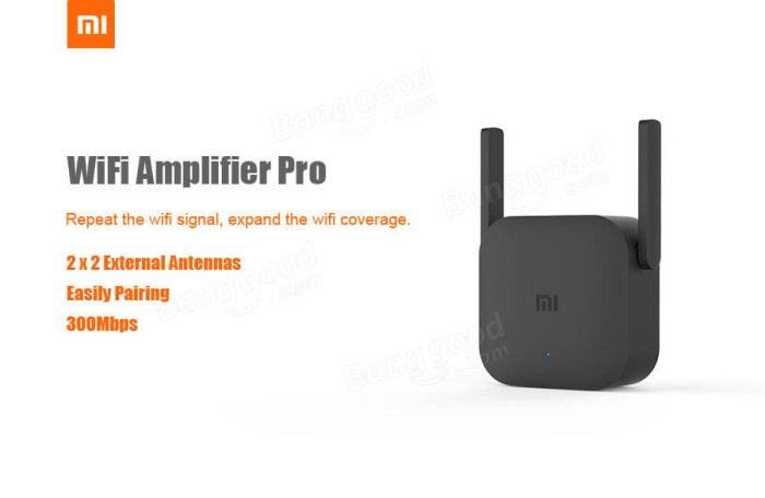 harga Xiaomi wifi extender pro repeater amplifier 300mbps with 2 antenna Tokopedia.com