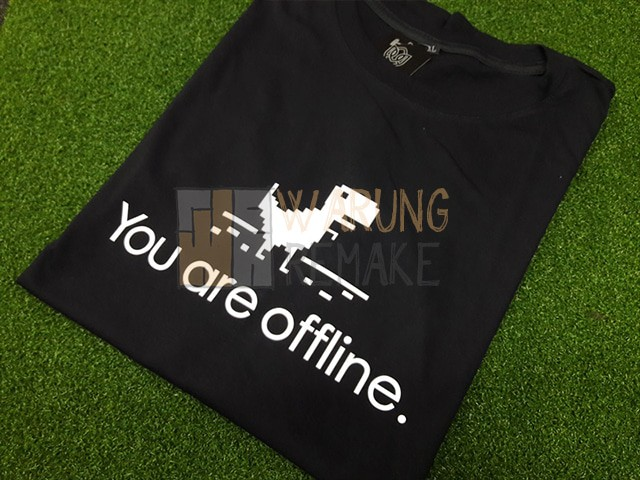 harga Kaos t-shirt dinosaurus google you're offline Tokopedia.com