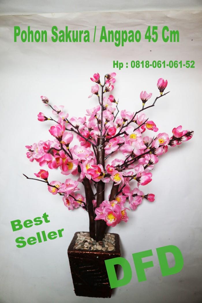 Jual Pohon Angpao Bunga Sakura Meihua Pink Uk 45 Cm Jakarta Barat Dfd Tokopedia