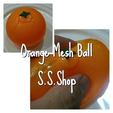 Foto Produk Splat toy mainan fruit orange buah jeruk dari Sale Stockist