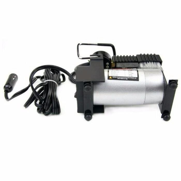 NEW Pompa Ban Mini Tekanan 1000Psi Heavy Duty Air Compressor 12V DC m