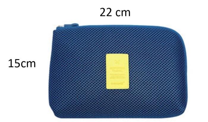 008 Monopoly Travel Bag Cosmetic Organizer Pouch Tas Kosmetik Korea - Kuning