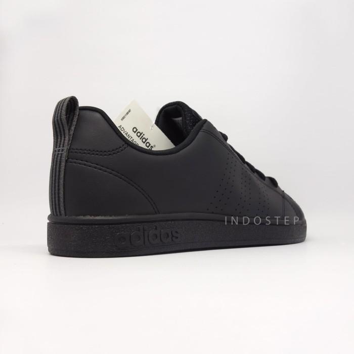 sweden sepatu original bnib 100 adidas neo advantage full black f5254 17d3e e9cd35a10d