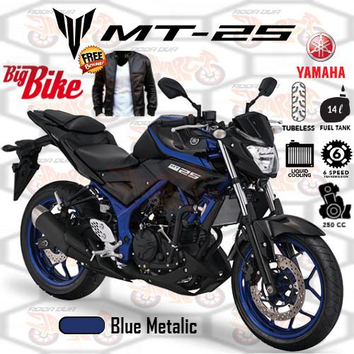 Yamaha MT 25 Blue Metalic JAKARTA TANGERANG SERANG