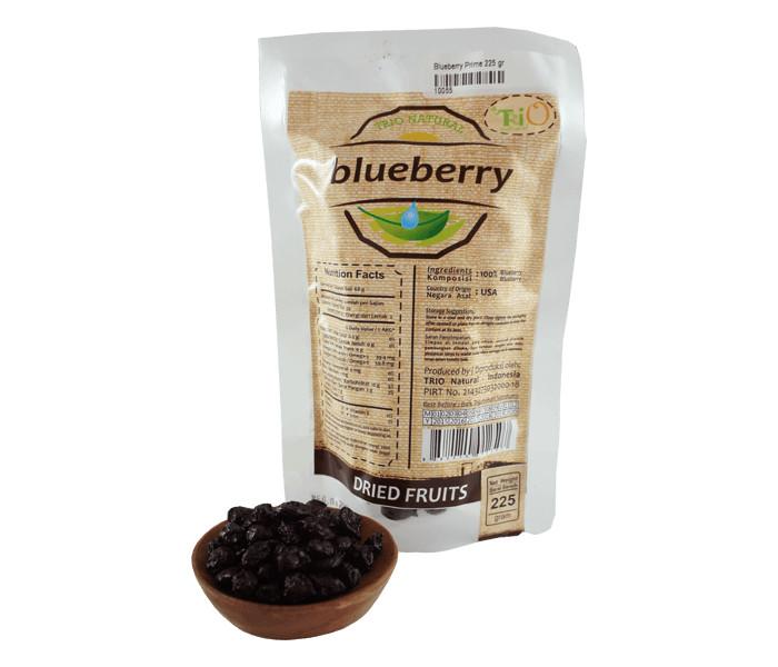 harga Trio buah blueberry kering 225 gr Tokopedia.com