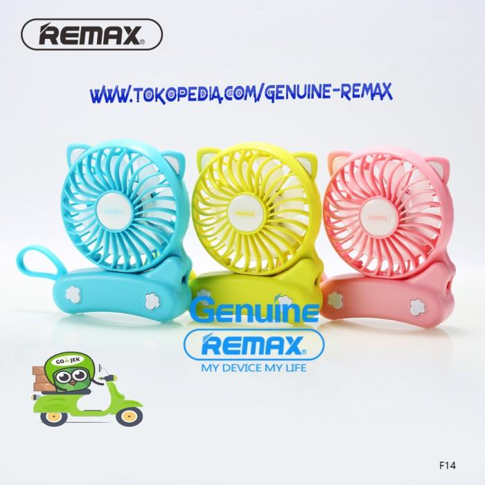 harga Kipas mini portabel usb rechargeable - remax cat foldable fan f14 Tokopedia.com