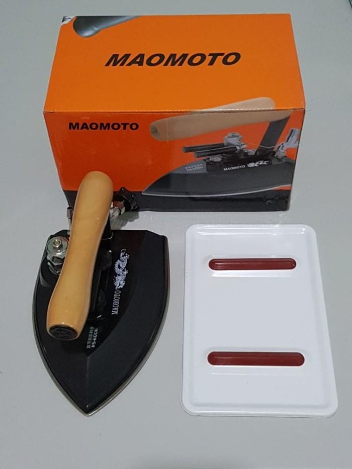 harga Setrika uap boiler merek maomoto model geser Tokopedia.com